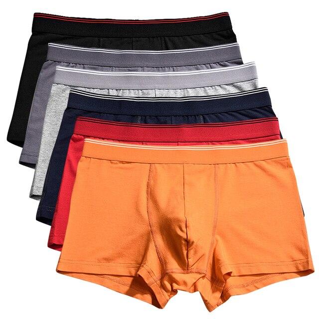 1bb67f6cf € 16.28 23% de DESCUENTO|Venta al por mayor Ropa interior de los Hombres  Boxer shorts Ropa interior Sous vetements Bokserzy gran tamaño XXXL de ...
