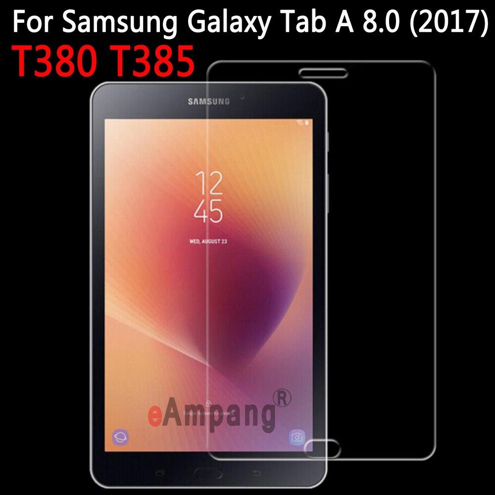 En Verre trempé Pour Samsung Galaxy Tab Un 8.0 2017 T380 T385 Protecteur d'écran pour Samsung Galaxy Tab A2 S 8.0 pouce Trempé verre