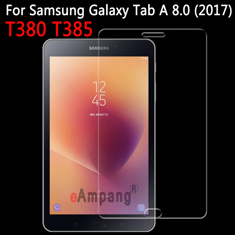 Tempered Glass For Samsung Galaxy Tab A 8.0 2017 T380 T385 Screen Protector for Samsung Galaxy Tab A2 S 8.0 inch Tempered Glass premium real tempered glass screen protector for samsung galaxy s5
