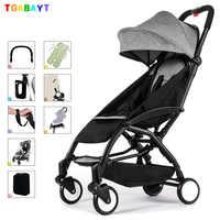 Original yoya poussette légère peut s'asseoir et se coucher 175 degrés pliant parapluie chariot ultra-léger bébé voiture portable sur l'avion