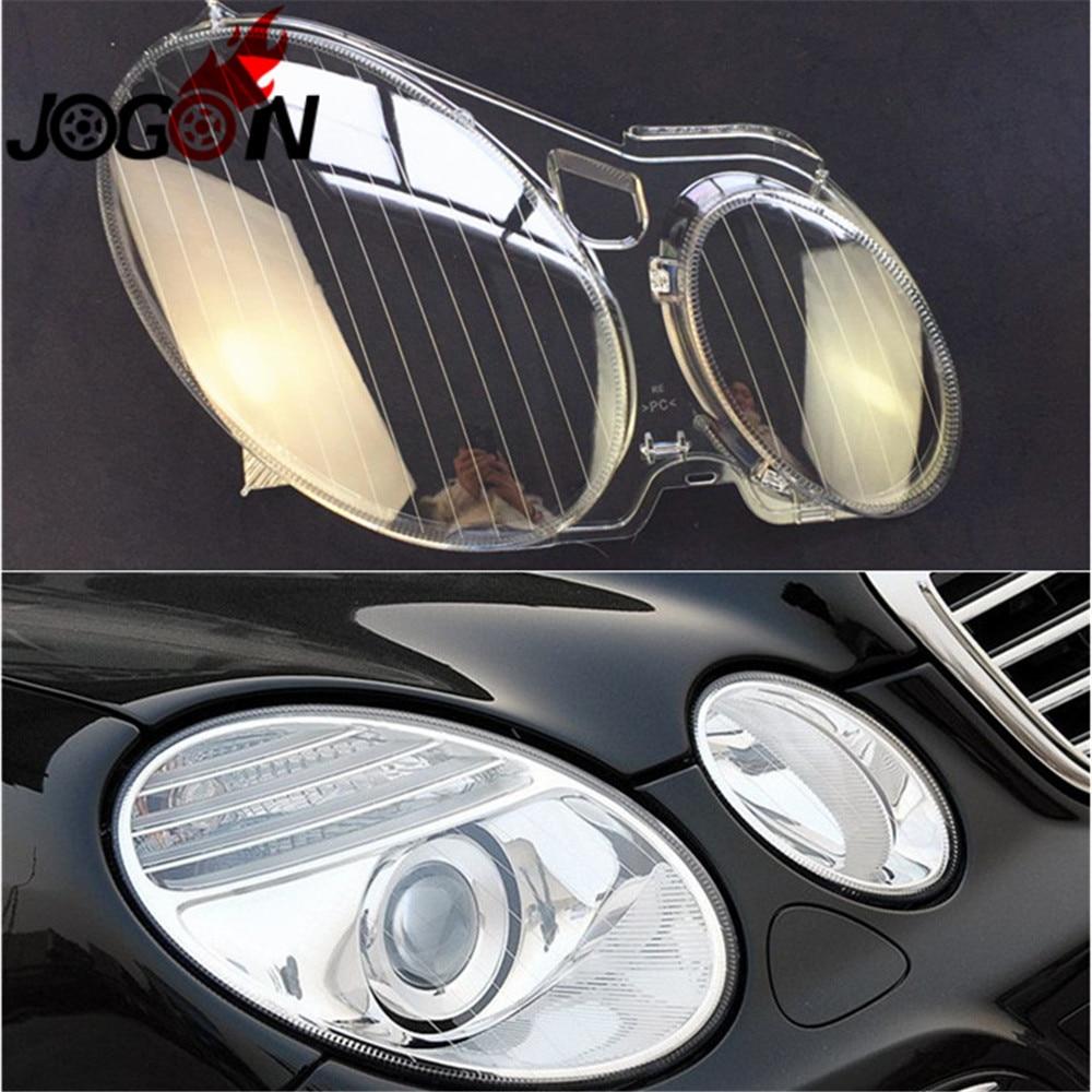 Headlight Head Lamp Lens Shell Transparent Lampshade Glass Cover For Mercedes Benz E Class W211 2002-2008 E200 E220 E280 E300Headlight Head Lamp Lens Shell Transparent Lampshade Glass Cover For Mercedes Benz E Class W211 2002-2008 E200 E220 E280 E300