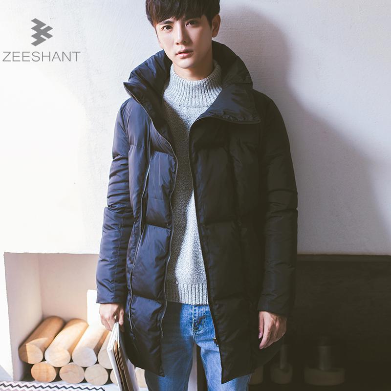 Zeeshant New Arrival Parka Brand Clothing Winter Men Cotton Warm Regular Formal Jackets and Coats in Men's Parkas XXL