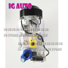 7SBU17C Auto A/C AC Compressor ASSY For BMW X6 GT 2009-2015 447260-41080 GE447260-4080 44726041080
