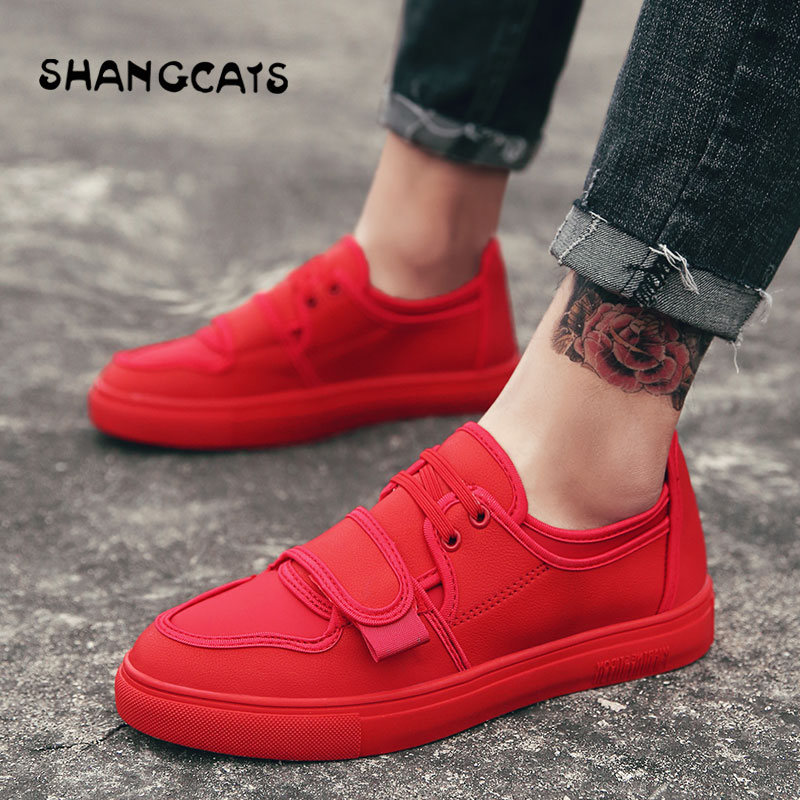 2018 hommes chaussures vulcanisées marque automne décontracté toile chaussures rouge noir homme baskets Superstar chaussures plates pour homme Ultras Boosts Krasovki