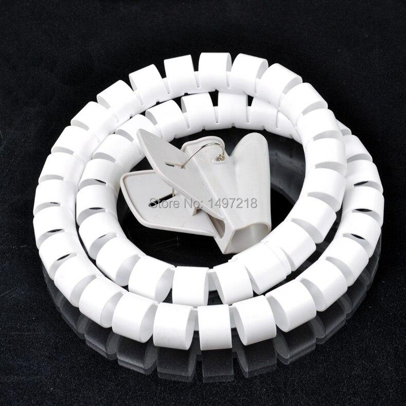 Freies Verschiffen 16mm * 10 mt Spiralkabel Wire Wrap Rohr computer ...