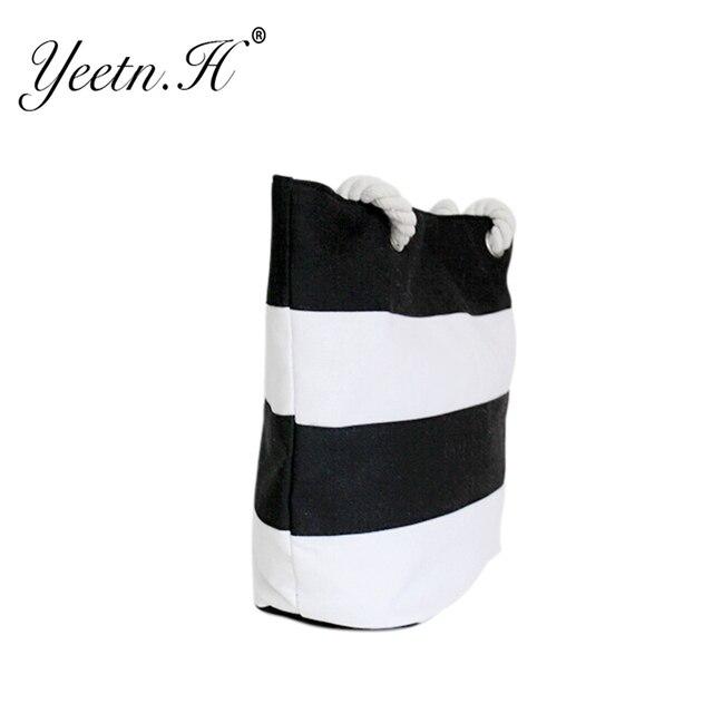 Quality Women's Top-Handle Bag Canvas Handbags Fashion Large Beach Bags Shoulder Bag 2
