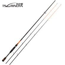 TSURINOYA JOY TOGETHER IV M +ML 2 Luminous Tips Casting Spinning Fishing Rod 2.1m 2 Section Carbon Fiber Ultralight Spinning Rod