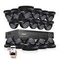 2000tvl annke 16ch 1080 p dvr câmera ir dia noite de segurança sistema de vigilância
