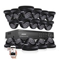 ANNKE 16-КАНАЛЬНЫЙ 1080 P DVR 2000TVL Камеры Безопасности ИК День Ночь Системы Видеонаблюдения