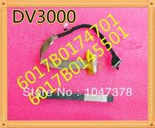 Оригинальный ноутбук жк-кабель для hp pavilion dv3000 dv3500 dv3600 p/n: 6017b0145501 6017b0174701 бесплатная доставка