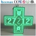 Leeman 3D из светодиодов управления карты для аптека крест использования, Зеленая аптека крест, Химик магазин, Медицинский центр из светодиодов аптека крест света