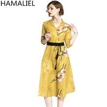 4cd29c86f1afe Flower Dress Yellow Promotion-Shop for Promotional Flower Dress ...