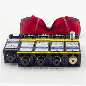 Image 5 - 10000mw módulo do laser 405nm 450nm ttl pwm corte de madeira gravura marcação azul cabeça laser