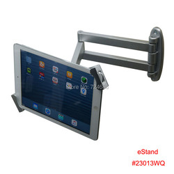 universal 7-10.1 inch tablet articulating security wall mount display lock mounting for Samsung Galaxy TAb A/ Tab S/ note