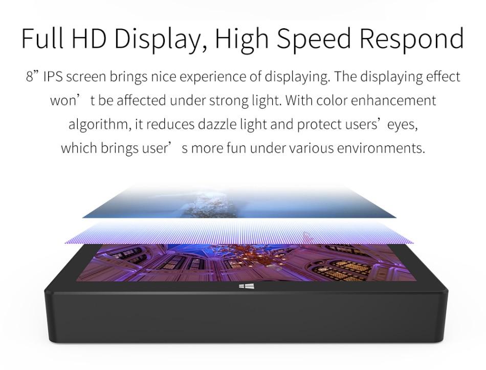 2019 Mini PC Windows 10 Home Business büro Tragbare Tasche Tablet PC Intel Z8350 8