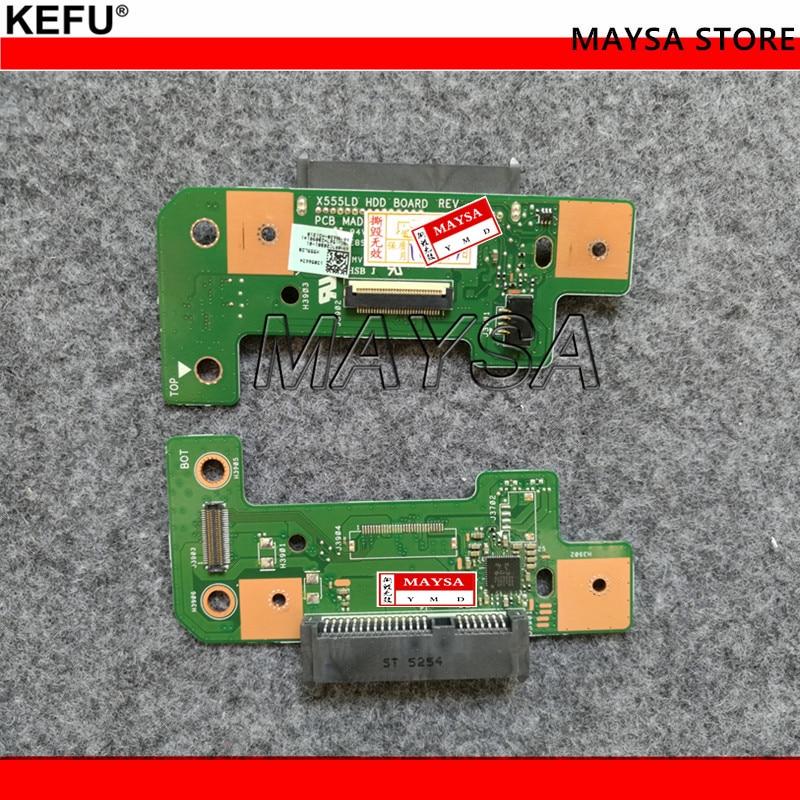 Carte fille fit pour ASUS X555L X555LD X555LP X555LI K555 R556L R556L X555L X553M Y583LD disque dur X555LD HDD CONSEIL REV: 3.0