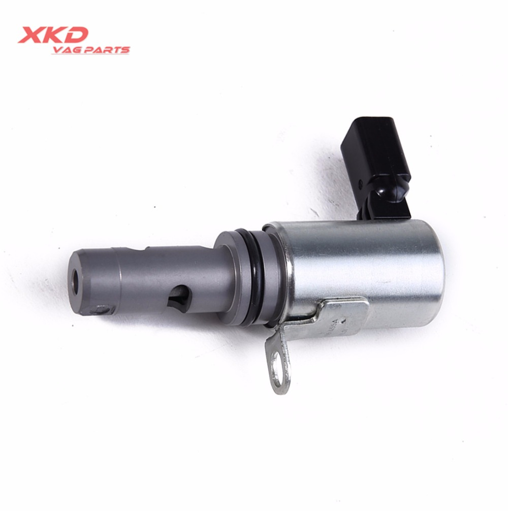 Engine Camshaft Variable Valve Timing Control Solenoid For VW CC Golf Jetta AUDI 03C 906 455