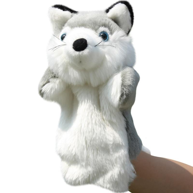 Silver Fox Stuffed Animal, 1 Pc 26 Cm Mewah Boneka Hewan Orange Silver Fox Tk Cerita Peran Menenangkan Anak Gadis Bayi Boneka Mainan In Boneka From Mainan Hobi On Aliexpress