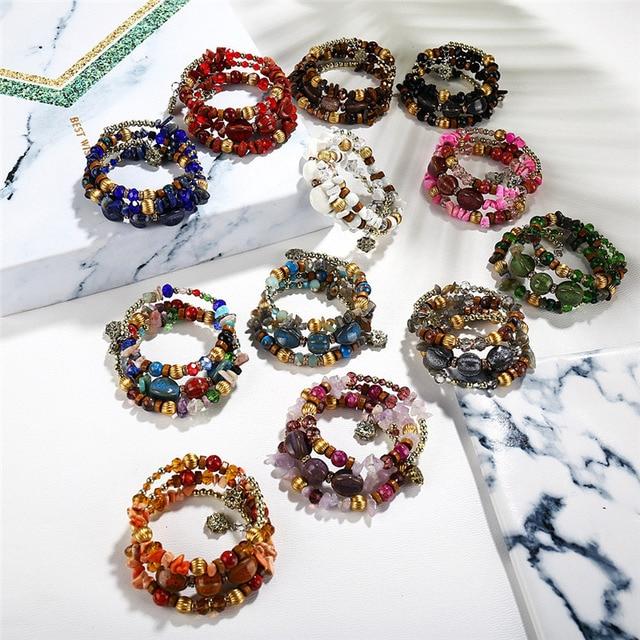 лидер продаж 2018 винтажные браслеты janeyacy с кисточками из фотография