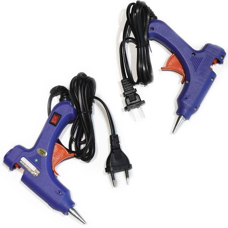 110 В и 220 В термоклей палку синий пистолет аппликатор для ремесел Repair Tool без клея палочки DIY инструменты частей аксессуаров Y2871