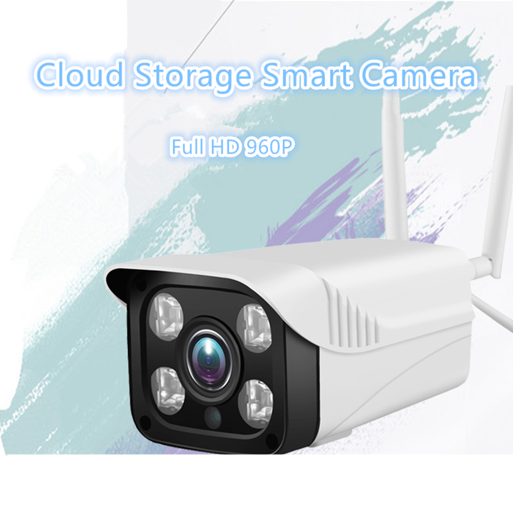 Mini Wireless Bullet IP Camera 960P Cloud Storage P2P Onvif Audio CCTV Outdoor Security Camera wifi ip Waterproof Night Vision h213w5a 960p wireless ip bullet camera outdoor waterproof ip66 onvif p2p ip wifi camera ir night vision security cctv camera