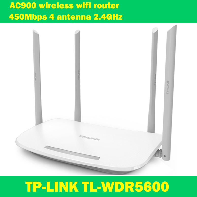 Original TP-LINK WDR5600 AC900 802.11ac 2.4ghz 450Mbps 5ghz 433Mbps 4 antenna WI-FI wireless wifi extender router tp link td w89741n 5 port 150mbps wi fi router w antenna blue grey