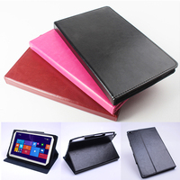 Luxury Business Style Utra Thin Folding Stand Flip Leather Cover Case For Chuwi V89 8 9