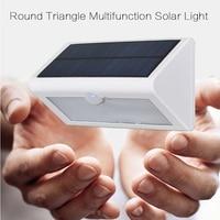38 led solar led 550lm 4 W impermeable PIR motion sensor de luz de pared al aire libre luces solares 2835SMD jardín solar lampion iluminación