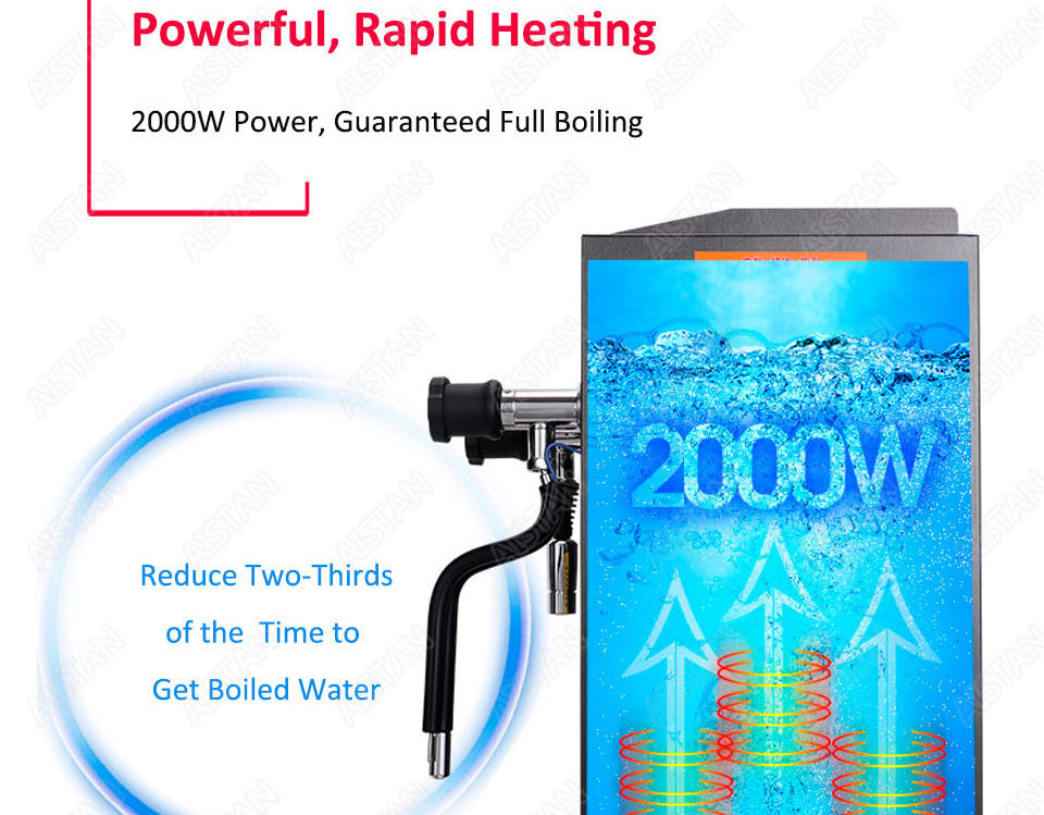 RC800 Commercial stainless steel Water Boiling Machine electric multifunctional steam water boiler for bar 220V 12