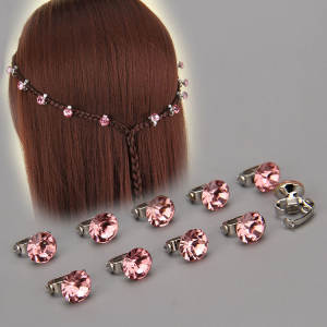 Sellsets Hair-Buckle-Pins Hair-Jewelry-Ornaments Crystal Bride Baby 12pcs for Women