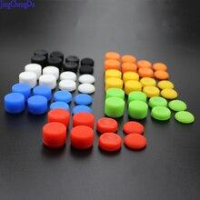 8pcs 조이스틱 캡 실리콘 아날로그 컨트롤러 엄지 스틱 그립 엄지 스틱 캡 커버 키 프로텍터 PS4 컨트롤러 Accessorie
