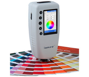 Image 3 - In Stock Fast Delivery  DHL WR10 High precision Digital Colorimeter Color Difference Meter Tester WR 10 ( CIELAB ,8mm ,D65)
