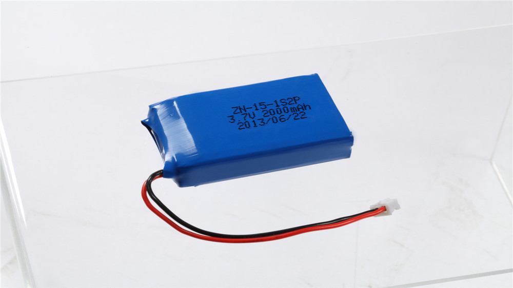 5X LED lights for 153050-2000 mAh lithium polymer battery customized welcome