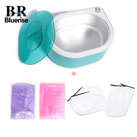 Paraffin Wax Heater +2Wax Hand SPA Warmer Wax Machine or Protection Gloves and Wax Body Hand Foot Skin Care