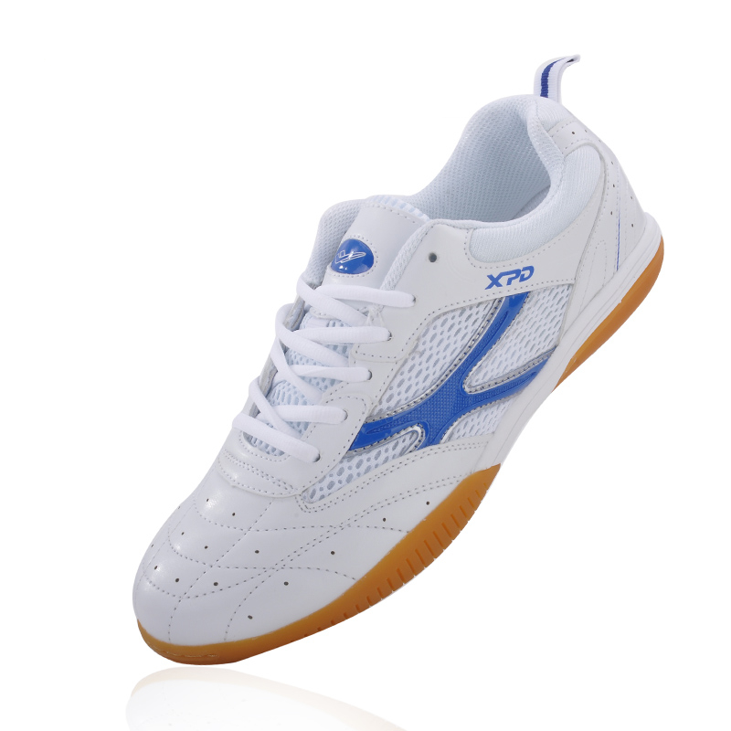 Chaussures de Badminton pour hommes semelle en caoutchouc femmes chaussures de ping-pong respirant chaussures de Tennis de Table hommes anti-dérapant femmes baskets de volley-ball