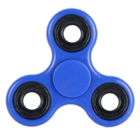 12 Styles White Black Tri Spinner Fidget Toy Plastic EDC Hand Spinner For Autism And ADHD