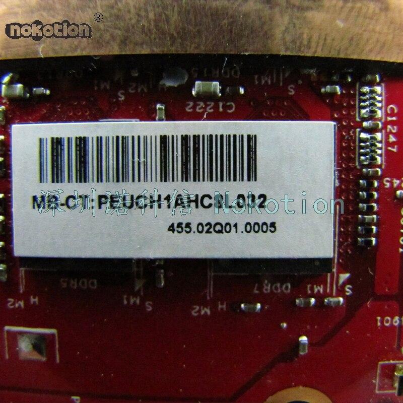 NOKOTION Laptop motherboard For HP OMEN 15 15-5013DX SR1PX i7-4710HQ GTX860M