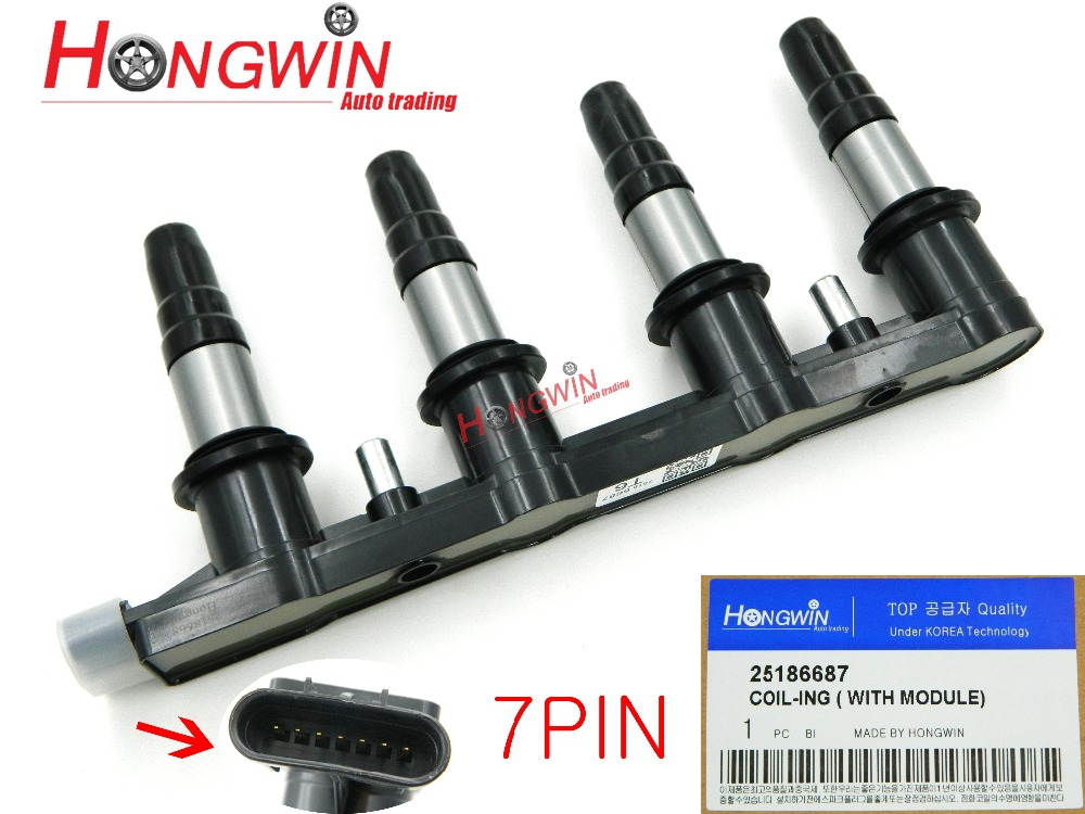 25186687 Ignition Coil W module For Chevrolet Cruze 1 8 2010 2015 AVEO AVEO5 2009 2011