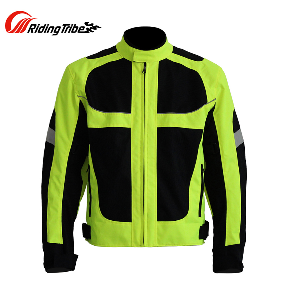 Riding Tribe Summer Motorcycle Racing Jacket Motocross Off-Road Motorbike Moto Clothing Breathable Windproof Jaqueta Moto Jacket scoyco motorcycle motorbike touring riding jacket motocross off road racing jacket breathable clothing with 7 pieces protectors