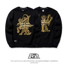 Tee7 Saint seiya אופנה סווטשירט גברים של סוודר סווטשירט למעלה באיכות חג האהבה מתנת יום הולדת
