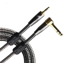Audio Cable Straight 3.5mm Mini Jack to Angle 6.35mm 1/4″ Stereo Phone PC Mixer Amplifier Headphone Cable 1M 2M 3M 5M 8M