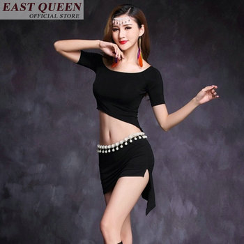 Belly bellydance Mondern dance costume ballroom dance dresses crop tops sexy skirts new feeling stage clothing 2018 FF551 A
