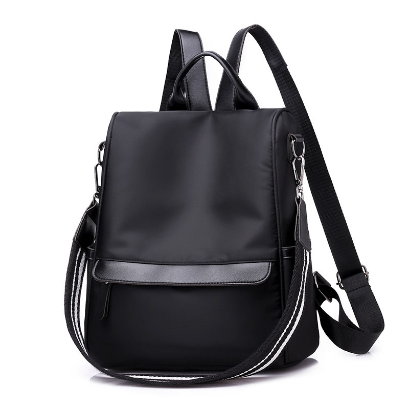 Spring And Summer New Anti-theft Backpack Korean Fashion Shoulder Bag Nylon Cloth Student Bag Mochila Feminina S202 #2