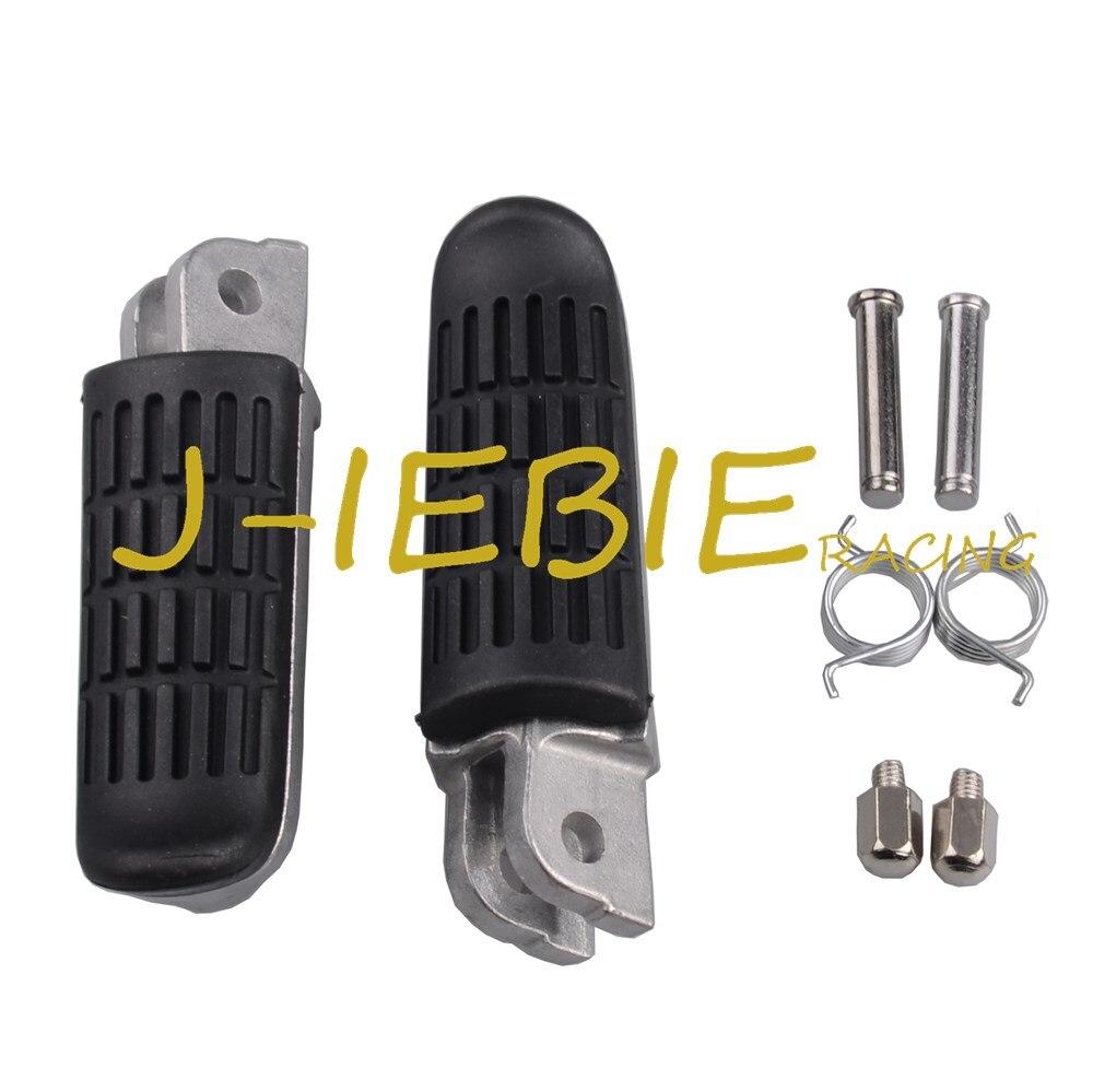 Front Footrest Foot Pegs For Honda NT700 CB500 CB600F Hornet NT400 NTV600 VT250 CB400 CBF600 CBF1000 CBR600F CBR1000F