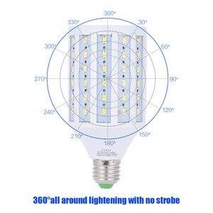 Image 3 - Andoer lâmpada de led para estúdio de fotografia, 40w, lâmpada milho, 90 contas 5500k e27