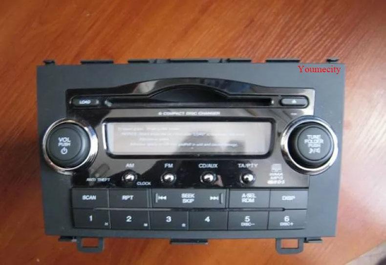 Lecteur dvd de voiture Youmecity GPS Navi pour Honda CRV 2007-2011 IPS écran capacitif 1024*600 + wifi + BT + SWC + RDS + Android 8.1 + 2G RAM - 2