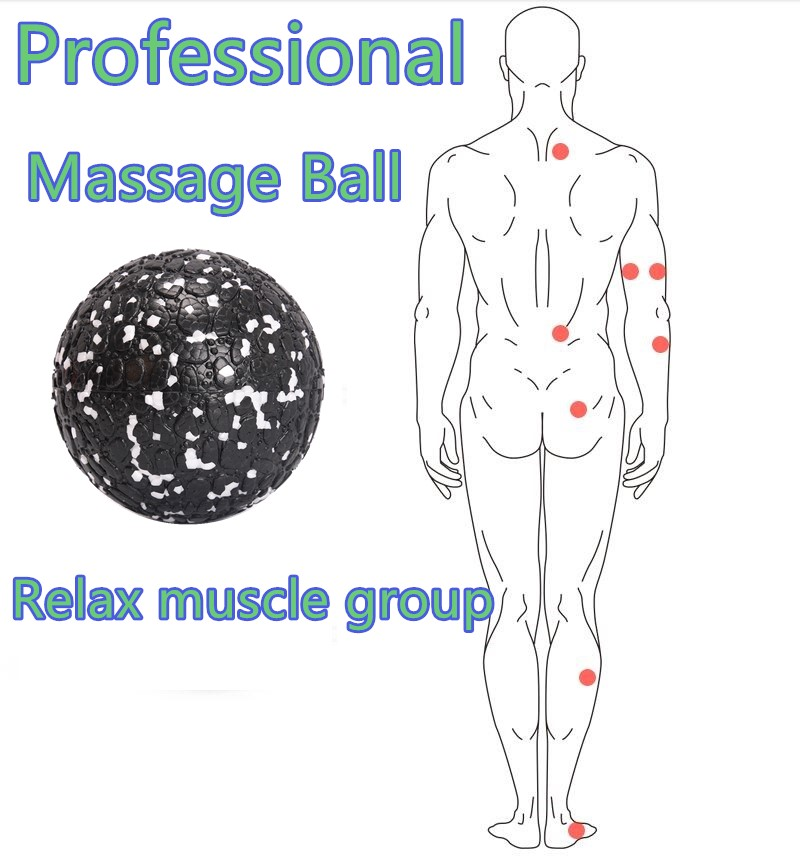 EPP Lacrosse Myofascial Exercise Ball and Peanut Massage Ball for Pain Relieve 6