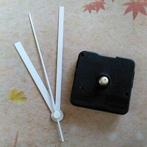 Image 3 - ¡Superventas! ¡500 Uds.! Reloj de pared DIY con manecillas de reloj blancas sin Tic Sweep Kit de movimiento para reloj de cuarzo
