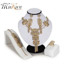 MUKUN Dubai jewelry sets Luxury bridal Brand nigerian set for women Fashion African Beads Jewelry Sets