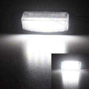 Светодиодные лампы для номерного знака Mitsubishi OUTLANDER XL (CW) 2006-2012, автомобильные аксессуары для Lancer Sportback 2008 ~ 2012
